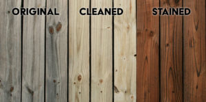 Wood Fence Cleaning and Staining